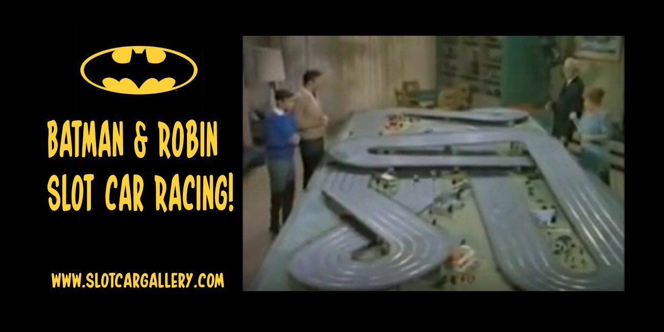 Batman & Robin Slot Car Racing