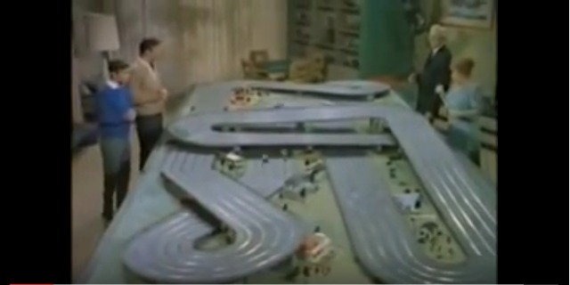 Batman & Robin Slot Car Racing