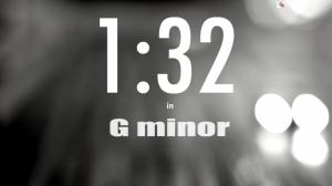 1:32 in G Minor