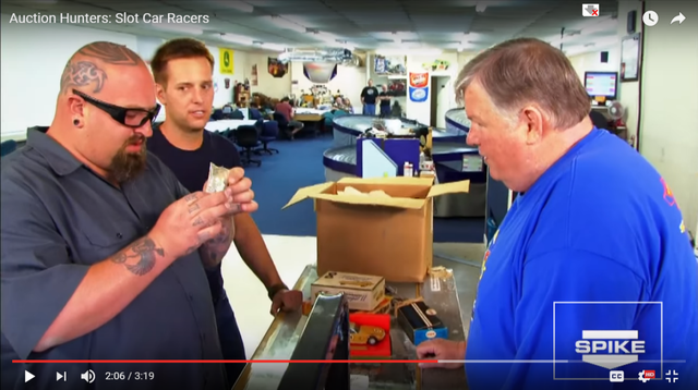 Auction Hunters visit Dallas Slot Cars