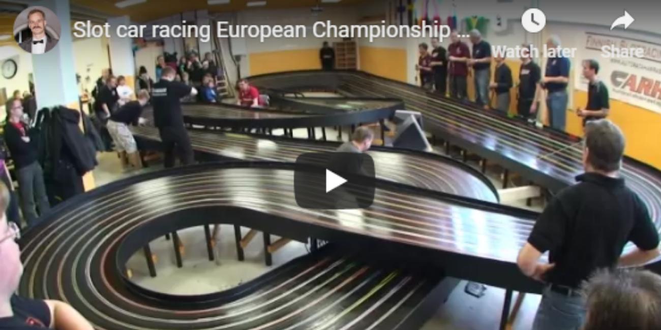 Slot car racing European Championship Finals