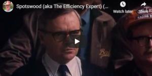 The Efficiency Expert (aka Spotswood)