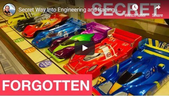 Secret Way Into Engineering and Racing - SLOT CARS!