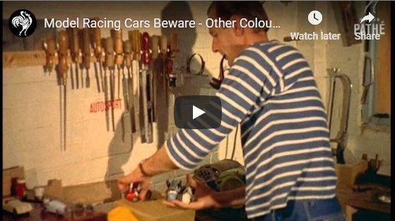 Model Racing Cars - 1957