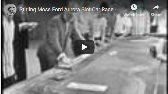 Stirling Moss Ford Aurora Slot Car Race - I've Got a Secret