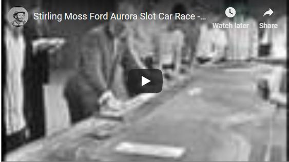 Stirling Moss Ford Aurora Slot Car Race - I've Got a Secret