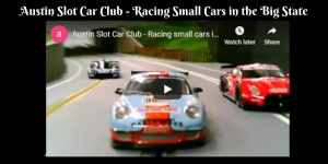 Austin Slot Car Club - Racing Small Cars in the Big State