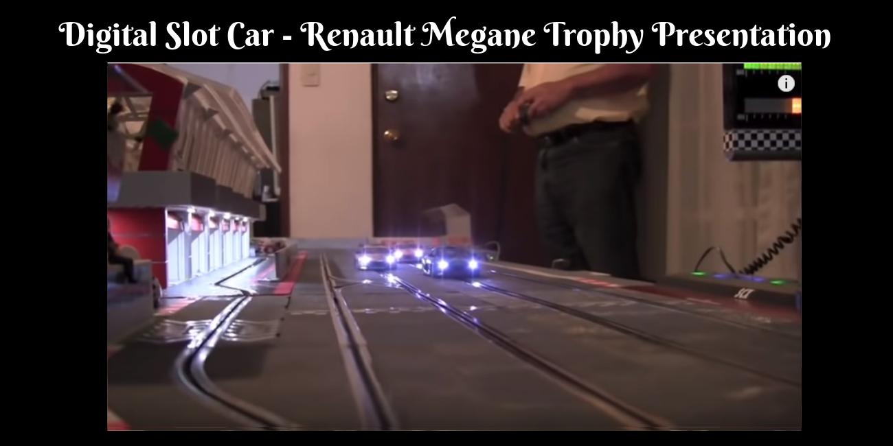 Digital Slot Car – Renault Megane Trophy Presentation