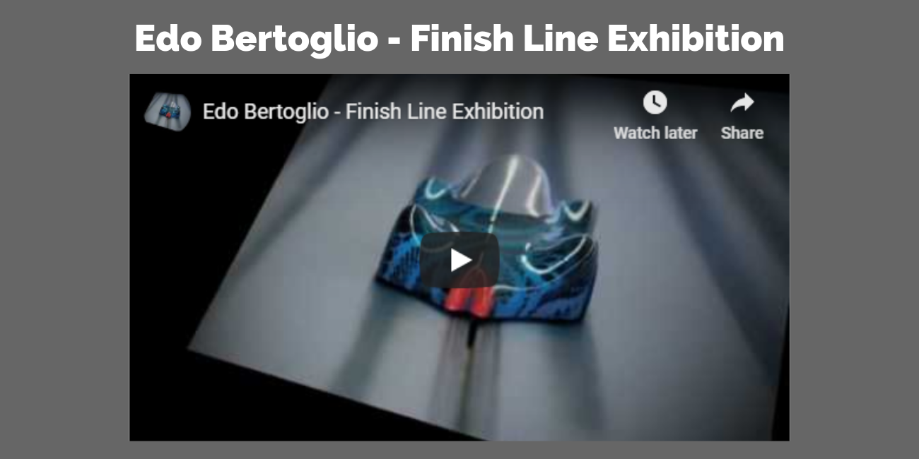 Edo Bertoglio - Finish Line Exhibition