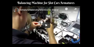 Balancing Machine for Slot Cars Armatures