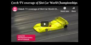 Czech TV coverage of Slot Car World Championships