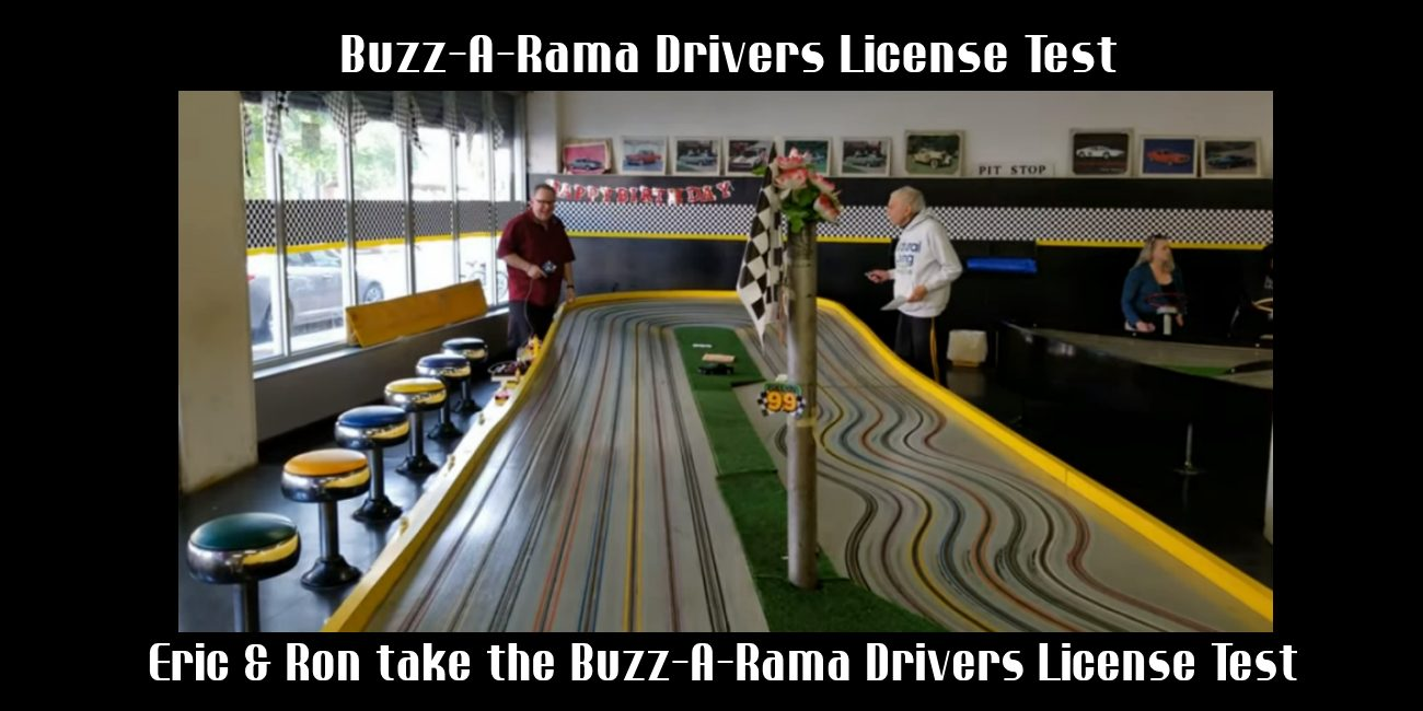 Buzz-A-Rama Drivers License Test