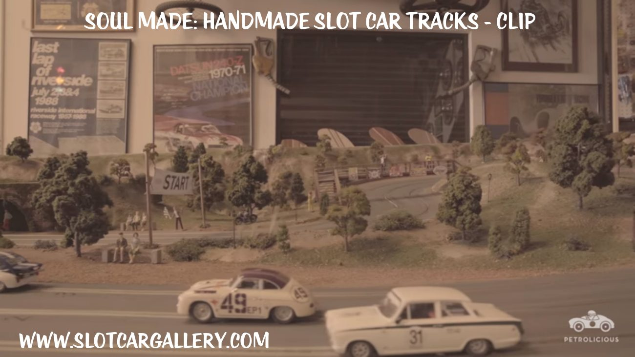 Soul Made: Handmade Slot Car Track