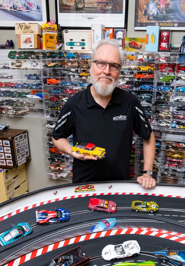 Jim Cunningham Spreads the Slot Car Gospel